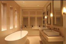 Bathroom Lighting / Bathroom lighting design schemes by John Cullen Lighting