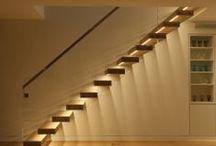 Corridors & Stairs Lighting / Corridors and stairs lighting design by John Cullen Lighting