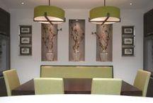Dining Room Lighting / Dining room lighting design by John Cullen Lighting