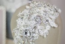 Bridal Hair Accessories by Atelier Słodkie Migdały / Bridal hair accessories, headband, veil, headpiece.