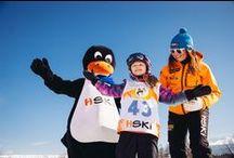 Klub Pingwina HSKI / Przedszkole narciarskie dla dzieci 2 - 12 lat