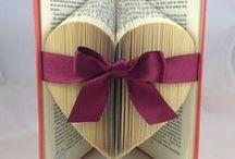 Book art Forme con i libri / #conlemani #creaconlacarta