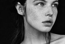 NATURAL BEAUTY / Natural beauty. Beautiful natural skin, hair and people.