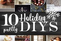 DIY Holiday Ideas and Party Ideas / by Giselle Kingsberry