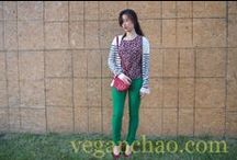 Vegan Fashion / What does a chic vegan girl wear? Click on my pinboard and find out!