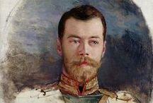 au temps des romanoff / russie imperiale et guerre civile