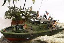 navires echelles diverses / maquettes