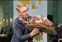 Internationale Pflanzenmesse IPM ESSEN 2014 / Das hochkarätige floristische Rahmenprogramm auf der Internationalen Pflanzenmesse, die größte Fachmesse für die grüne Branche, richtet der FDF auf. Jedes Jahr lädt er internationale Größen der Floristik-Welt nach Essen ein, die auf der Event Bühne ihre neuen Trends, Ideen und blumigen Inspirationen vorstellen.