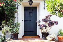 Statement Door / Colorful, elegant and charming doors that make a statement.