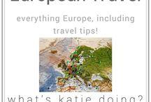 European travel / Everything European!