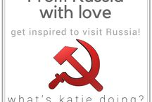 From Russia with love / Everything Russian! Get inspired to travel to this amazing country, what ever the season!