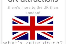 UK attractions / Travel around the UK and all the attractions you should see!