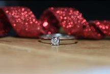 Engagement rings / Beautiful handmade engagement rings made of 18K White Gold set with best quality Diamonds. Completely handmade in my studio, these rings would be perfect to celebrate your love, commitment (wedding or not) or an anniversary.