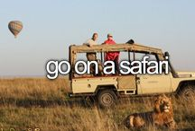 Bucketlist / Everything I want to do