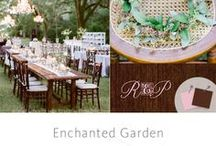 """The Knot's Dream Wedding Theme IS: Enchanted Garden / The Knot is giving Rebekah Gregory and Pete DiMartino a dream wedding! The Knot has selected them as an inspiring couple who deserve the wedding of a lifetime. Rebekah would love a fairy-tale-themed wedding. Pete's big request? """"I was picturing a really cool bluesy, jazz band."""" Here is 1 of 4 #ALPINEEXLUSIVE themes we collaborated on with Eventiste, Marcy Blum. You voted for your favorite theme at: http://wedding.theknot.com/dream-wedding-contest.aspx?MsdVisit=1- and #EnchantedGarden has won!!!"""
