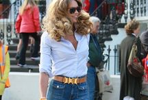Today's 70s fashion trends and vintage  / On the high street today