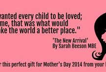 Quotes from The New Arrival by Sarah Beeson / Extracts from the book