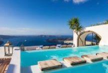 Iconic Santorini Hotel by A&T Kontodimas Architects / Iconic Santorini, a boutique cave hotel in Santorini. Restoration by A&T Kontodimas Architects