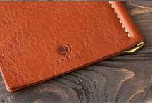 leather money clip