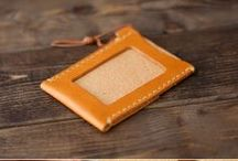 leather pass case