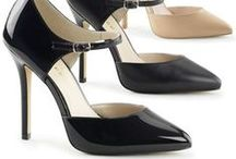 Hot Heels for Men and TG / Crossdressing Heels  offered by Suddenly Fem . Made ot larger sizes.  Great styles  - shown to inspire