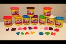 D.I.Y. Play Doh (playdough)/ fondant/ polymer clay creations / All kinds of Play-Doh ideas, creations, movies. You can make the creations also in polymer clay or fondant for on a cake