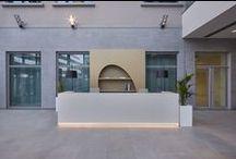 Office Reception / Reception designed by DEGW Italia