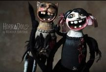 Horka Dolls (Klaudia Gaugier) / Magnificent art dolls by Polish artist Klaudia Gaugier