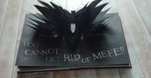 "Babadook - the book / Absolutely unique and stunning piece of art, the book from movie ""Babadook"", created by amazing Babadook team :)"