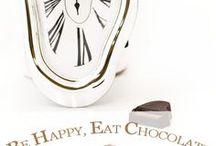 Be Happy, Eat Chocolate / «Sois reconnaissant envers les gens qui te rendent heureux. Ils sont les jardiniers qui font fleurir ton âme.» Marcel Proust Profitons de chaque moment du quotidien pour en faire un instant inoubliable !