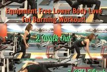 Equipment Free Fat Burning Workouts. / My favourite body weight fat loss moves to choose your curves!