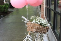 balloons and bicycles