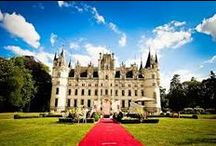 Chateau Wedding / From gothic invitations to medieval dining...get inspired by our castle wedding ideas