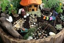 Small World Play / Ideas for creating inviting small play areas for children to explore