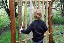 Nature Play / Playing with nature, natural materials...