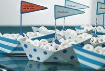 Festa a tema Barche e Mare / Tante idee per una festa a tema ispirata alle barche. Per chi è appassionato di nautica, di mare, di barche a vela, barche a motore, catamarani, e gommoni proprio come noi! www.marinanow.com