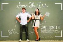 Save the date / Inspirações de Save the Date, a tendência de fotos antes do casamento que serve como um pré-convite do Grande Dia.
