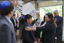 Creating New B'nai Mitzvah Rituals / Stories about unique ways to celebrate a bar/bat mitzvah that exemplify the meaning of this important time in a family's life.