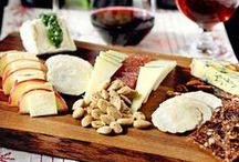 Wine and Cheese Pairings / We love wine and cheese, so what could be better than dried wine grapes and cheese? That's right...nothing!   Surprise and delight everyone at your next party with the following pairing ideas.