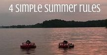 SUMMERTIME / Images, articles, ideas for games, places to go, things to do and get ready for summertime all year long!