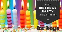 BIRTHDAY IDEAS / What we consider the best pinterest birthday party ideas!