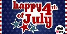 INDEPENDENCE DAY / Inspiration, decor, fun games, recipes, and ideas for celebrating 4th of July and Independence Day!