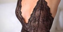 Lingerie / Confira as últimas tendências em lingerie para noivas, das utilitárias para usar sob o vestido até as sexys, sedutoras, com muita renda, cetim, tule e bordados para arrasar na lua de mel.