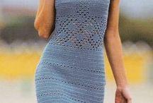 Šaty háčkované