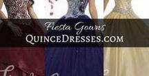 Fiesta Gowns   QuinceDresses.com