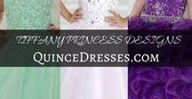 TIFFANY PRINCESS DESIGNS   QuinceDresses.com