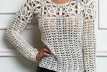 Háčkování - svetry a halenky