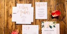 Wedding Day Details at The Booking House / From Wedding Stationary to 3 tier wedding cakes and everything in between. We have provided inspiration for the best day ever! Cheers to the bride and grooms!