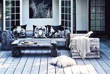 """Sol de Invierno / Inspiración para el post """"Sol de invierno"""", porque es posible disfrutar de nuestras terrazas y balcones en todas las estaciones ;)"""