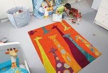 Alfombras infantiles / Diferentes modelos y tamaños para hacer confortables las habitaciones de los peques